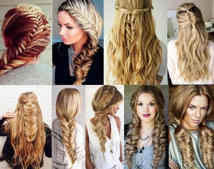 Причёска коса рыбий хвост. \ Фото: pallcare.ru.