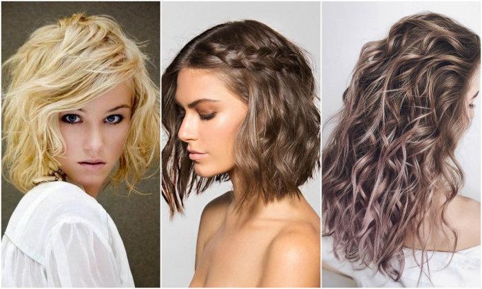 Стильные причёски для средней длины волос на каждый день. \ Фото: 24smi.org.