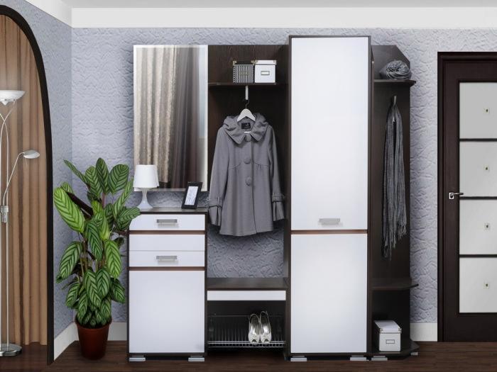 Многофункциональная мебель для прихожей. \ Фото: google.com.