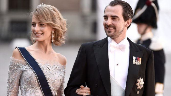 Принц Николаос и принцесса Татьяна Греции и Дании. \ Фото: google.ru.