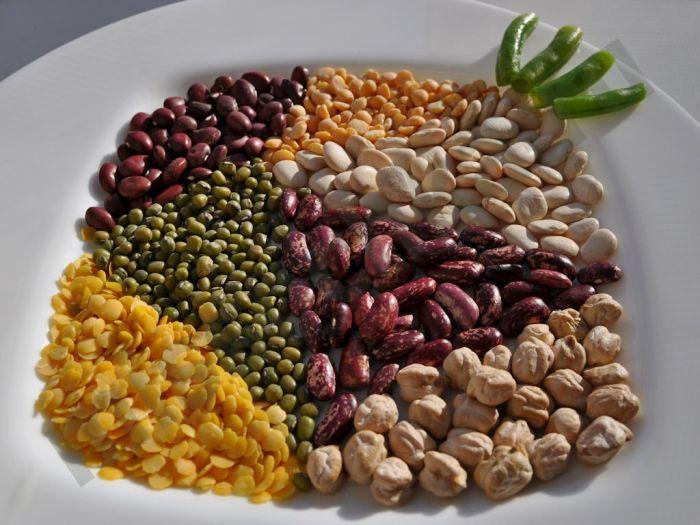 Любые бобовые (сушёные/консервированные) должны храниться при комнатной температуре.