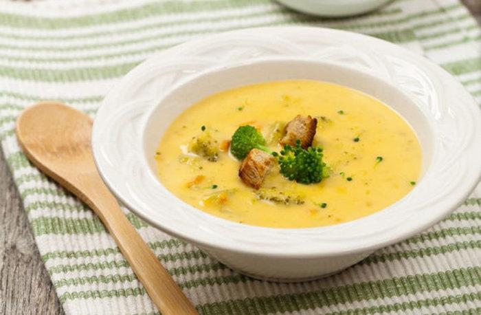 Суп из бананов. \ Фото: povar.ru.