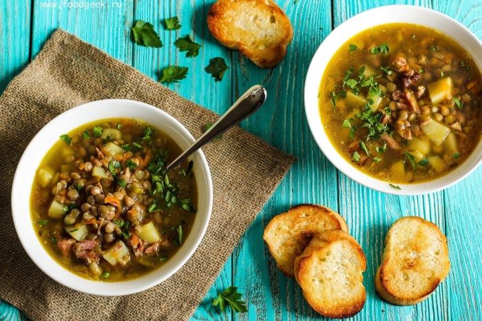 Суп с чечевицей. \ Фото: google.ru.