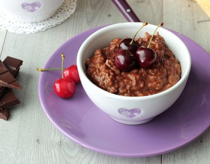 Рисово-шоколадный пудинг. \ Фото: google.com.