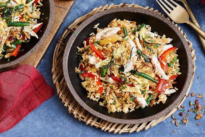 Рис по-тайски. \ Фото: 1000.menu.