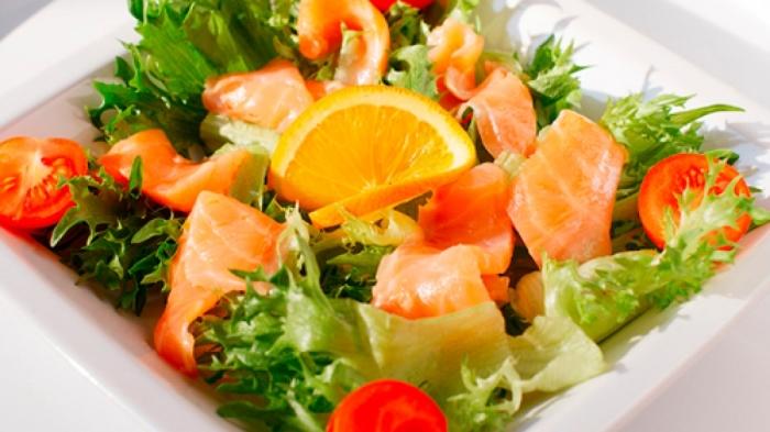 Весенний экзотический салат. \ Фото: google.com.