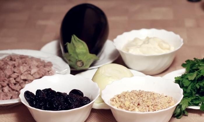 Ингредиенты для салата. \ Фото: yandex.ru.