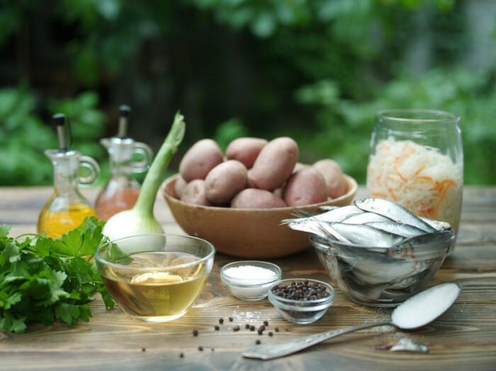 Ингредиенты для салата. \ Фото: google.com.ua.