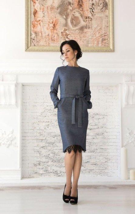 Очень женственное и элегантное платье, в котором можно пойти куда угодно.