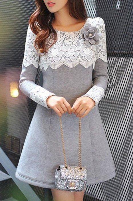 Такое платье прекрасно подойдёт на каждый день.