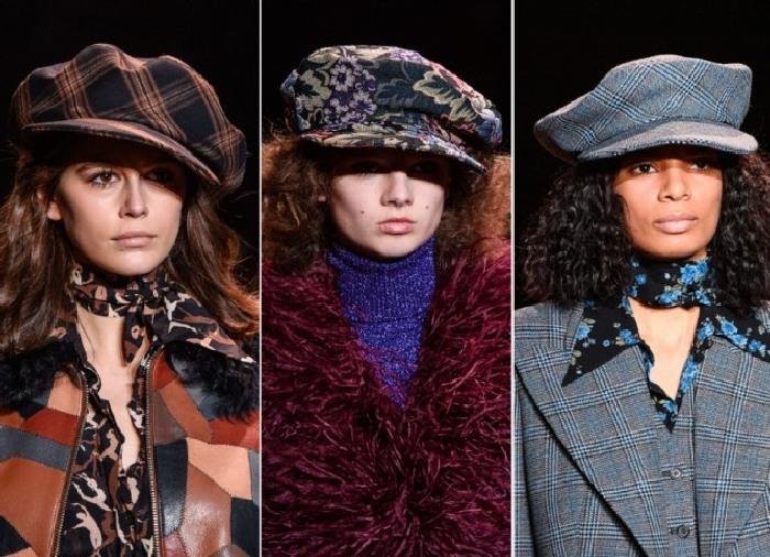 Модные кепки. \ Фото: newwoman.ru.