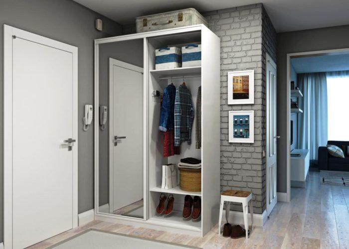 Такие шкафы очень удобны с точки зрения использования.