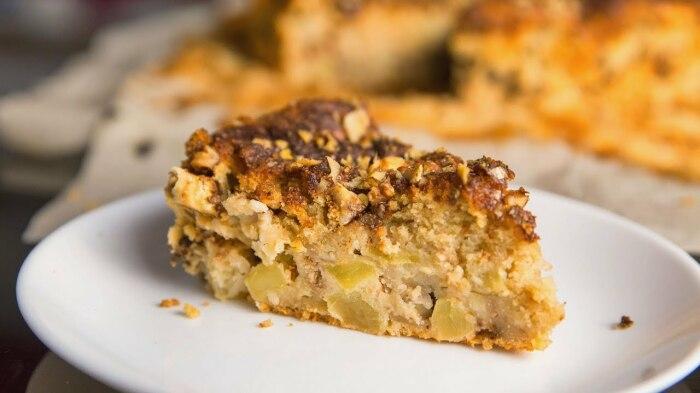 Десерт с яблоками. / Фото: ytimg.com.