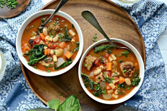Итальянский суп. \ Фото: telegraf.com.ua.