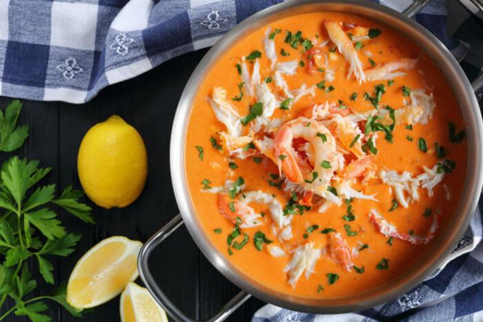 Сливочный крем-суп. \ Фото: foodandmood.com.ua.