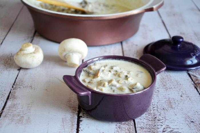 Идеальный грибной соус. \ Фото: 1000.menu.