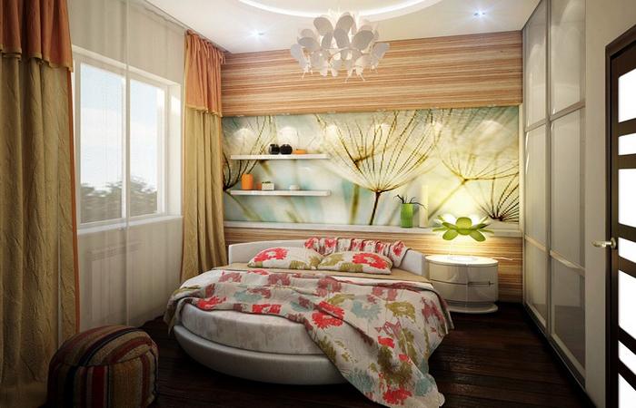 Дизайн маленькой спальни.