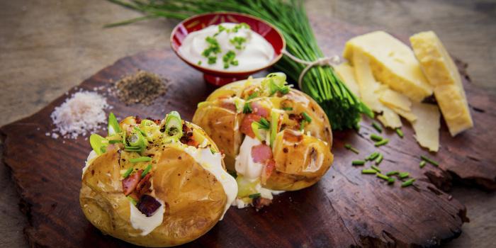 Вкуснейший запечённый картофель. \ Фото: ok.ru.