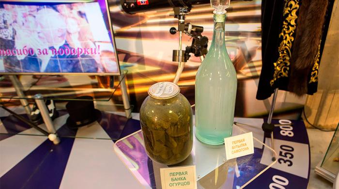 Есть что выпить и чем закусить. \ Фото: gazeta.ru.