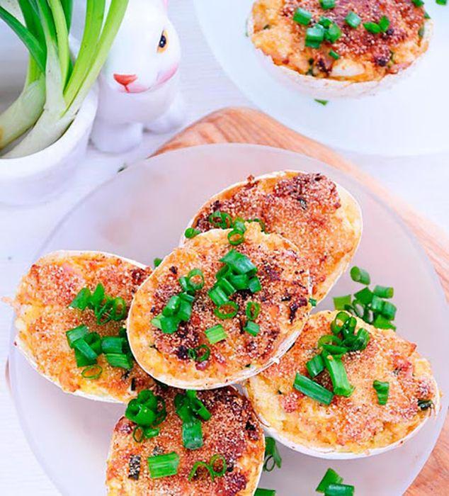 Жаренные фаршированные яйца. \ Фото: zinoti.lt.