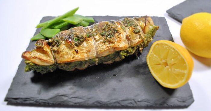 Фаршированная скумбрия. \ Фото: cuisinefiend.com.