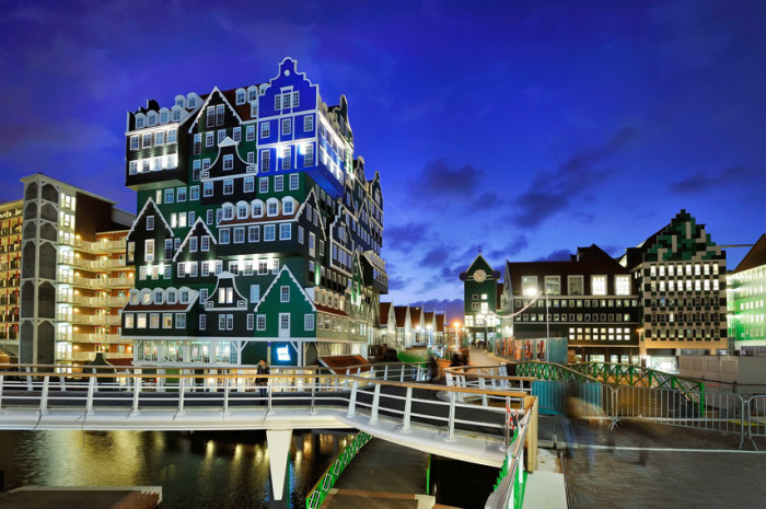 11-этажное здание возвышается на 40 метров в высоту, гостей смогут разместить 160 комнат.