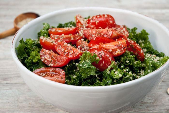 Лёгкий летний салат. \ Фото: pinterest.es.