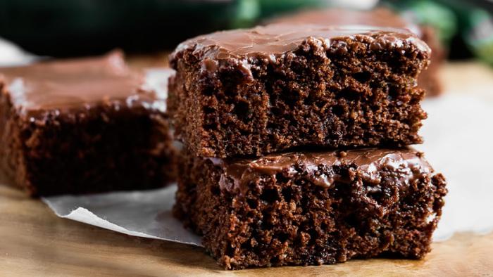 Шоколадный пирог со свеклой. \ Фото: google.com.ua.
