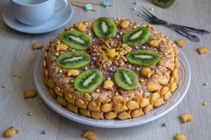 Торт со сгущенкой. / Фото: google.com.