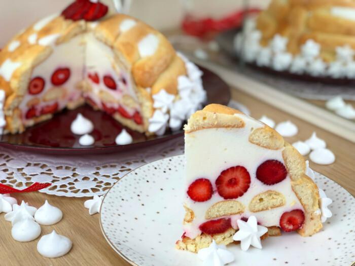 Домашний десерт с фруктами. / Фото: bezvypechki.com.