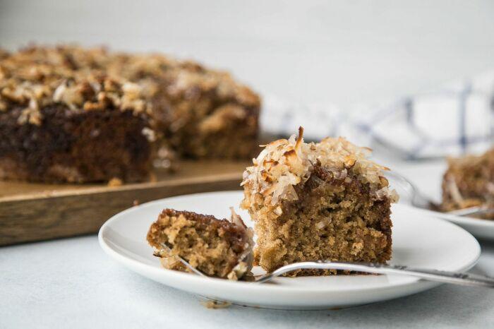 Торт из овсяного печенья. / Фото: pcdn.co.