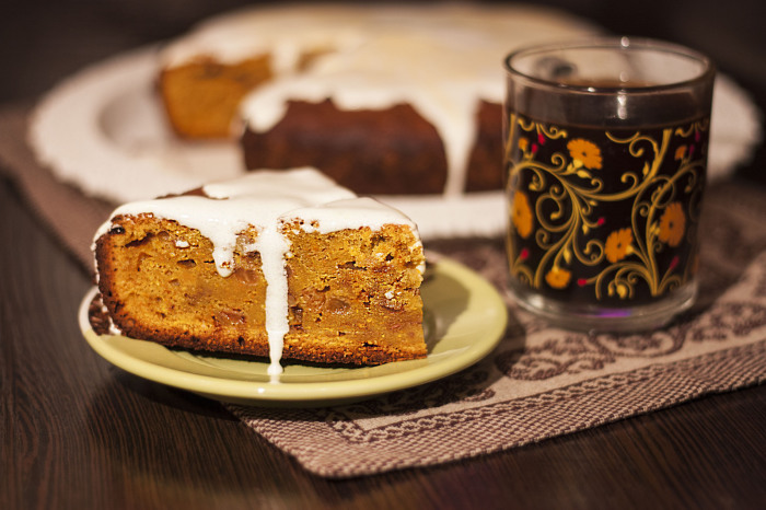 Тыквенный пирог. \ Фото: pikabu.ru.