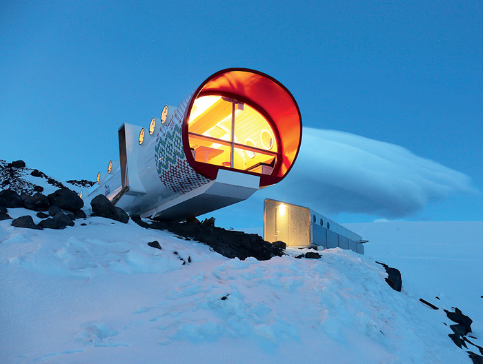 Один из самых высокогорных отелей мира (3912 м) расположился на южном склоне Эльбруса.
