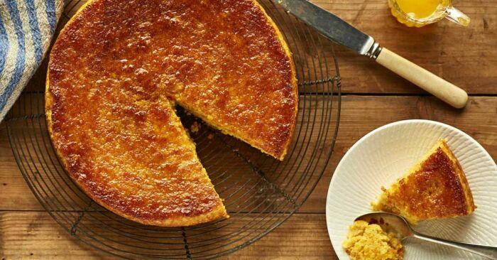 Нутовый торт. \ Фото: blogspot.com.