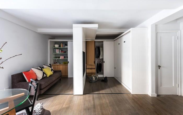 Многофункциональная мебель поможет освободить квартиру от ненужных элементов.