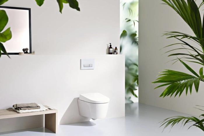 Такое простое решение доведёт до совершенносто любую ванную комнату или санузел.