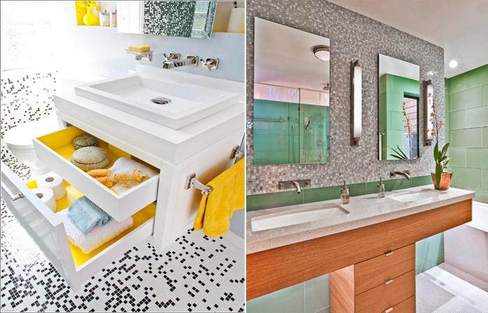 Создаём комфорт в ванной комнате.