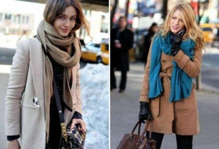 Тёплые и уютные шарфы. \ Фото: all-for-woman.com.
