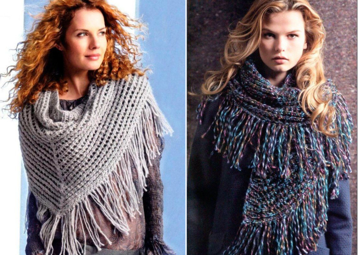 Вязаные шарфы. \ Фото: worldluxrealty.com.