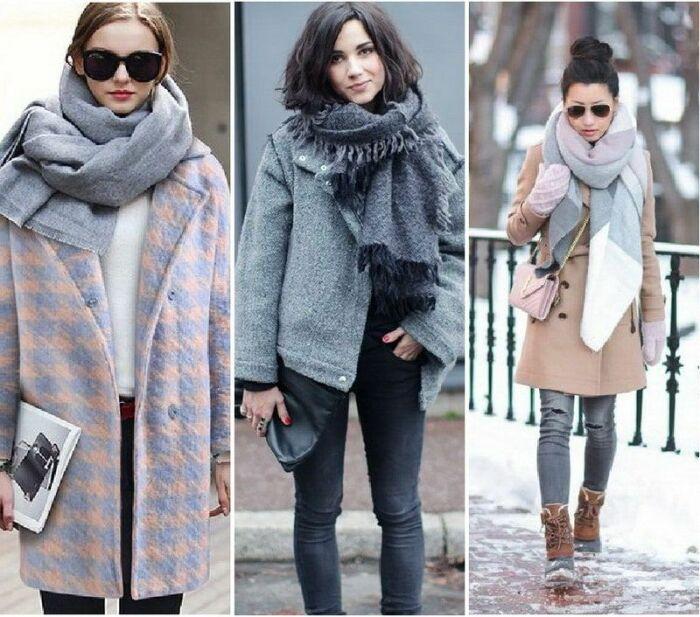 Кашемировые шарфы. \ Фото: ddi-7.ru.