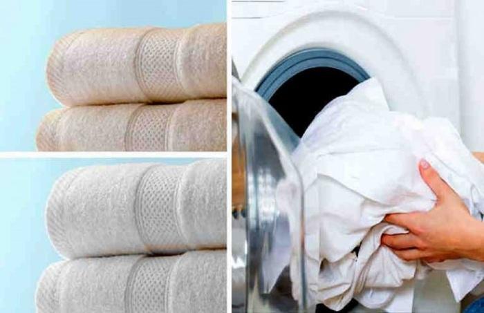 Возвращаем надлежащий вид и былую мягкость полотенцам. \ Фото: samodelkino.info.