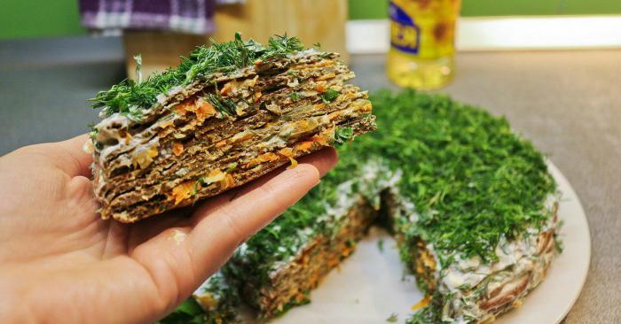 Печёночная запеканка с грибами. \ Фото: sovkusom.ru.