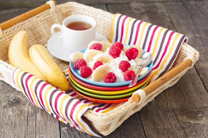 Полезные завтраки из творога.