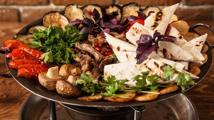 Садж – вкуснейшее блюдо азербайджанской кухни.