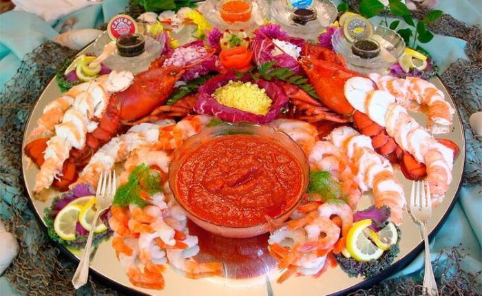 Любимые морепродукты.