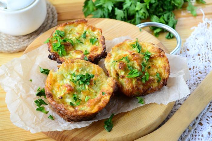 Кексы из кабачков. \ Фото: et.cookinghealthy4u.com.