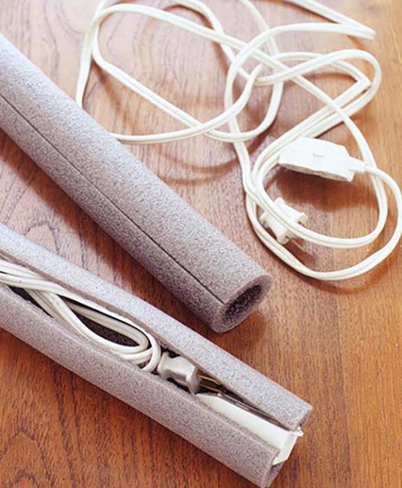 Безопасные круглый чехлы для шнуров