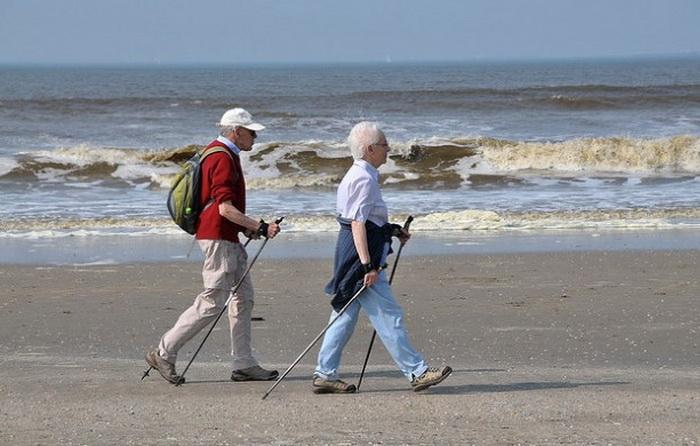 Пенсионеры в Дании, одной из самых благополучных стран в мире.