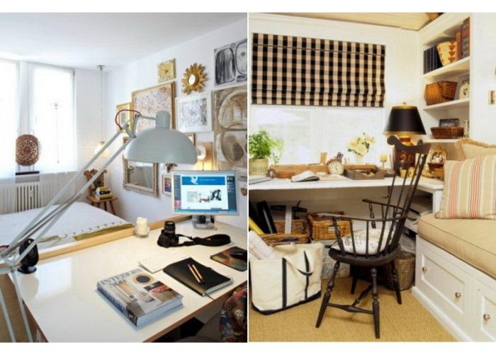 Рабочий уголок и место для сна: примеры зонирования комнаты.