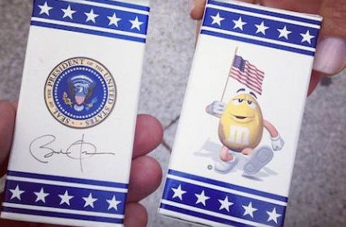 M&M'S - официальные конфеты Белого дома.